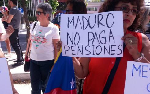 Gobierno De Maduro No Paga Pension A Venezolanos En El Exterior