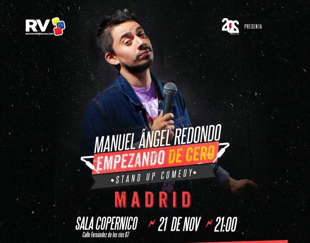 Manuel Ángel Redondo Empezando de Cero en Madrid